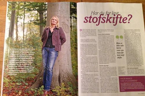 Lavt stofskifte i magasinet SØNDAG